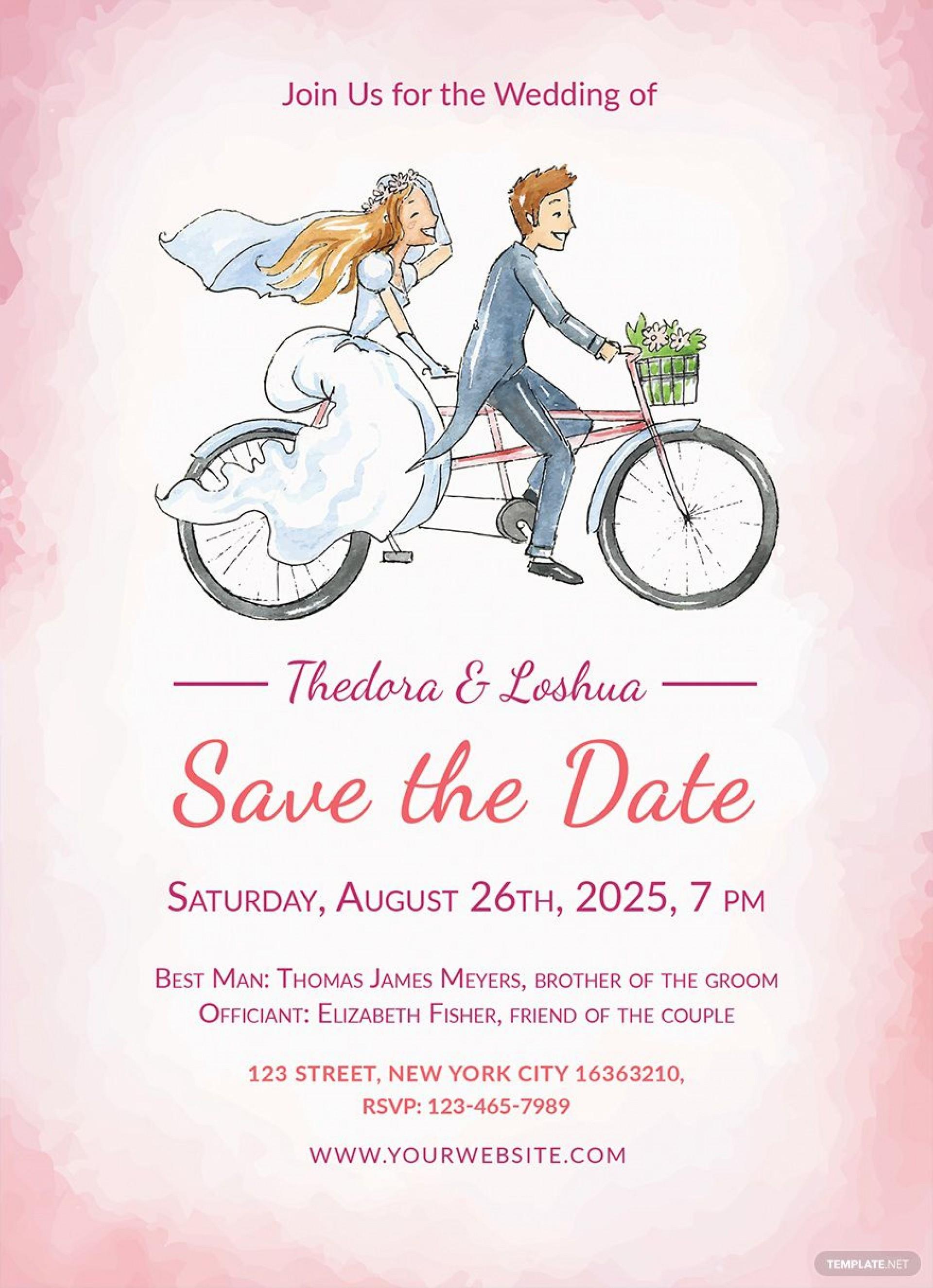 008 Beautiful Sample Wedding Invitation Template Free Download Image  Wording1920