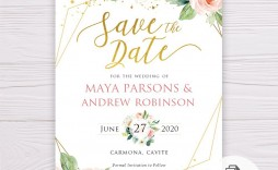 008 Beautiful Save The Date Word Template High Resolution  Free Birthday For Microsoft Postcard Flyer