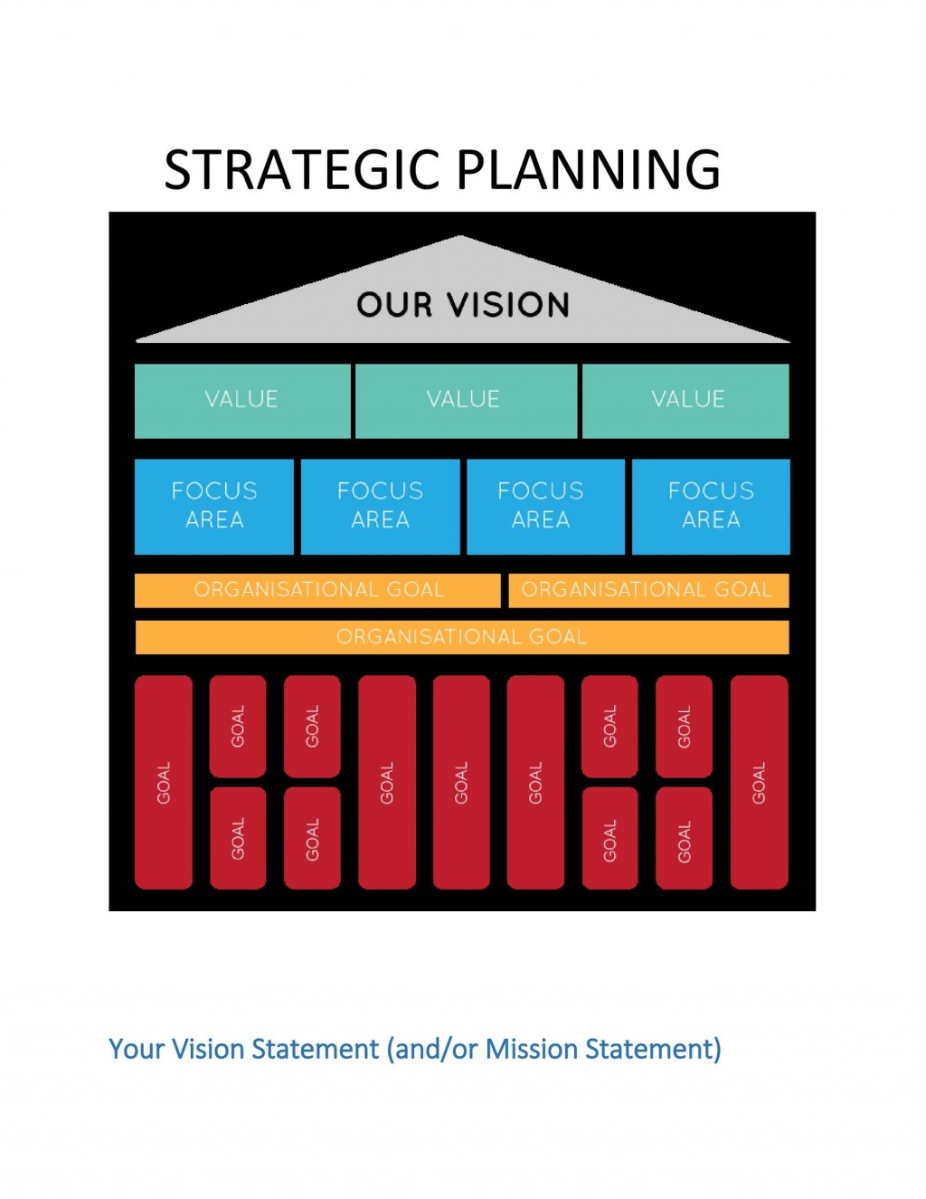 008 Beautiful Strategic Planning Template Free High Def  Excel 6 It For CioLarge