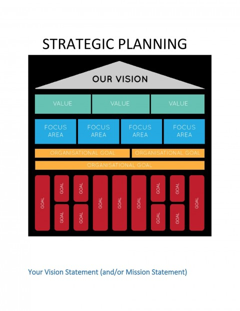 008 Beautiful Strategic Planning Template Free High Def  Account Plan Ppt480