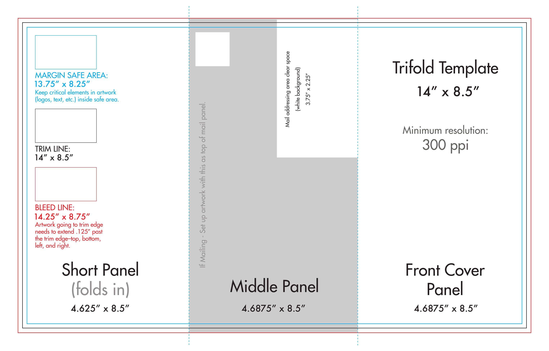 008 Beautiful Three Fold Brochure Template Indesign Photo  3 A4Full