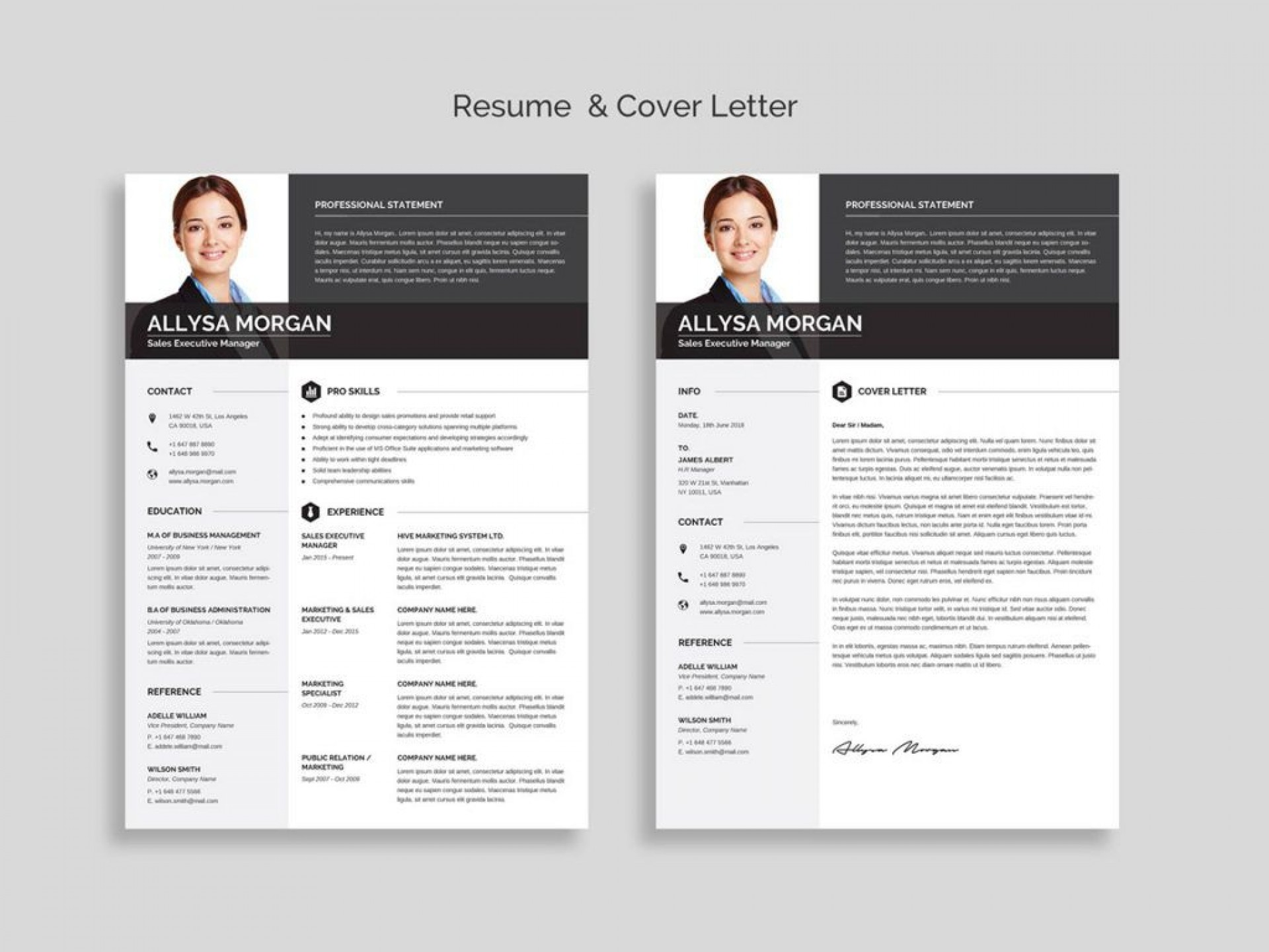 008 Beautiful Word Resume Template Free Photo  Fresher Format Download 2020 M1920