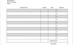 008 Best Excel Invoice Template Download Free Design  Service Cash Receipt For Mac