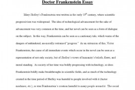 008 Best Frankenstein Essay Highest Clarity  Critical Pdf Question Who I The Real Monster