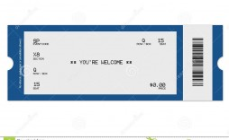 008 Best Free Concert Ticket Template Printable Design  Gift