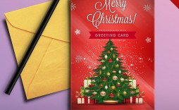 008 Best Free Download Holiday Card Template Idea  Templates