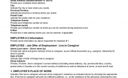 008 Best Free Employment Contract Template Highest Quality  Templates Bc Temporary South Africa Ireland