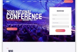 008 Best Free Event Planner Website Template High Def  Download Bootstrap