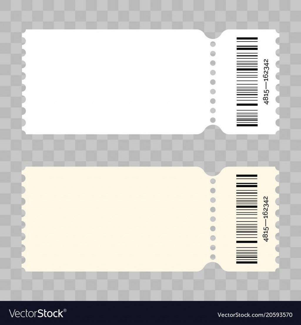 008 Best Free Event Ticket Template Printable Picture Large