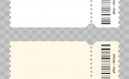 008 Best Free Event Ticket Template Printable Picture