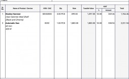 008 Best Free Excel Invoice Template Gst India Image