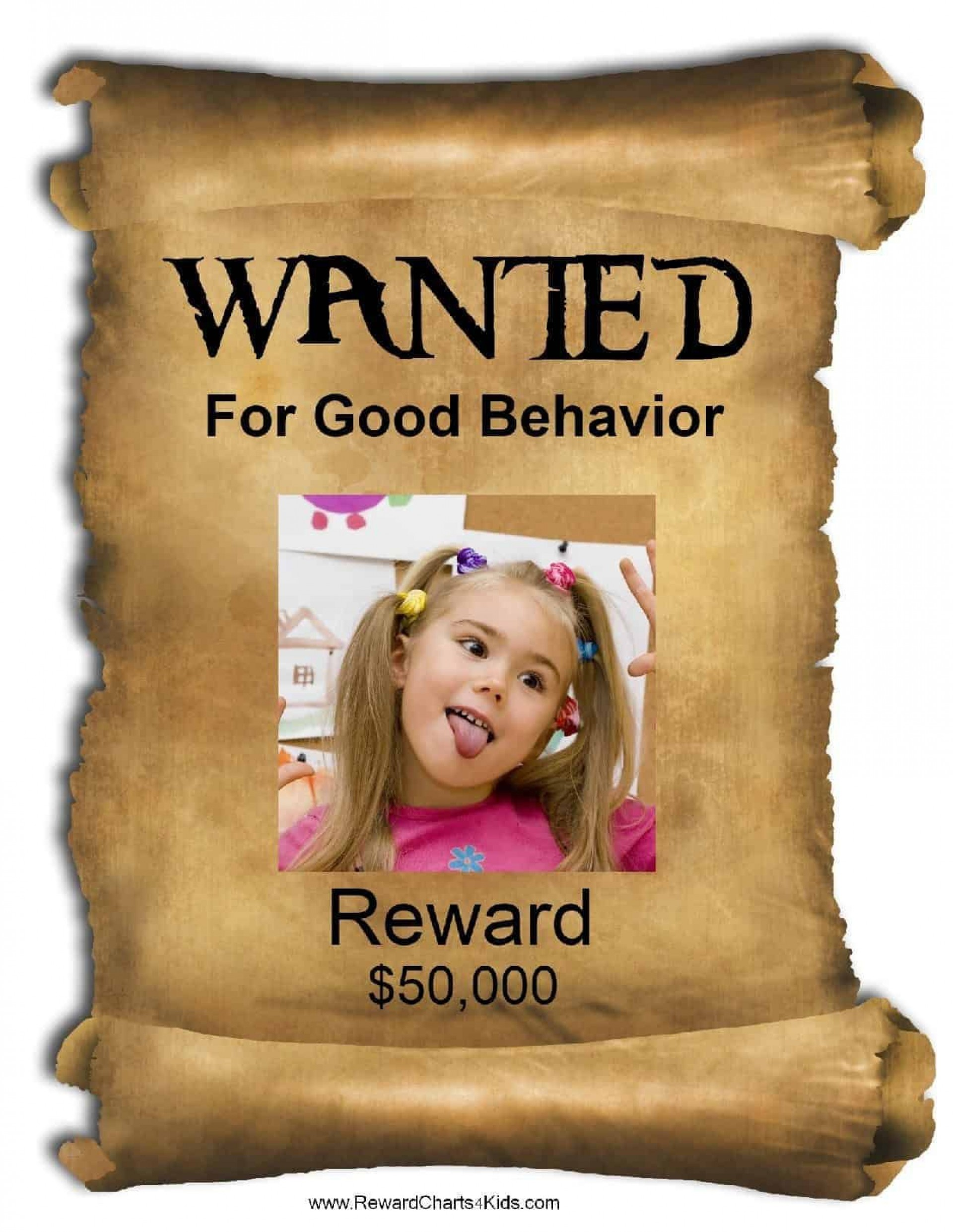 008 Best Free Wanted Poster Template Example  For Microsoft Word Download Student1920