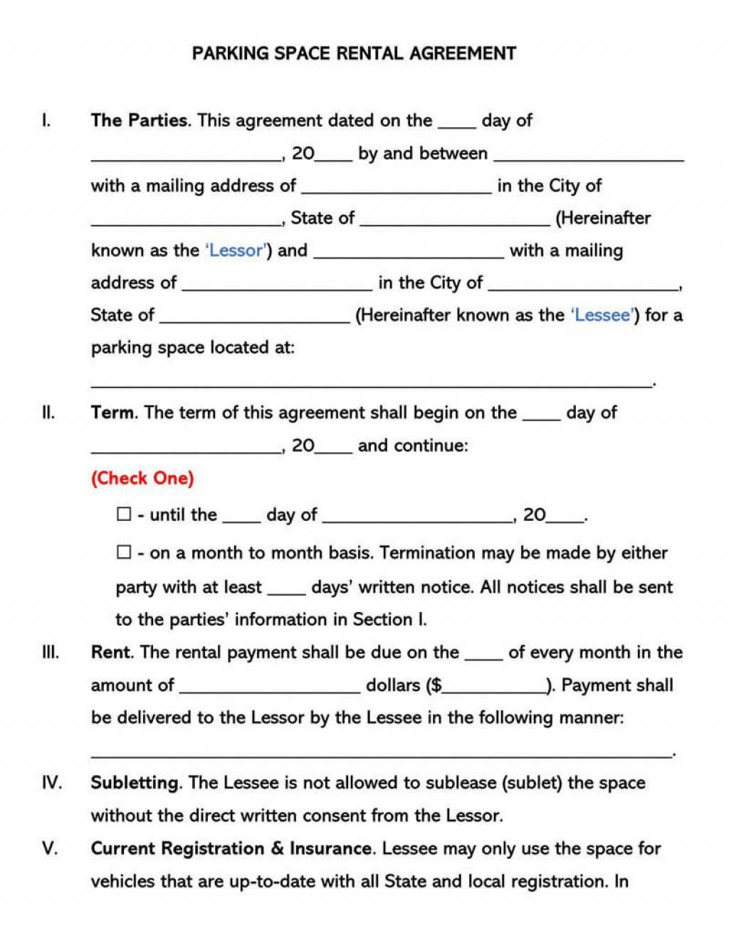 008 Best Lease Agreement Template Word India Highest Quality  RentalLarge