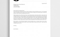 008 Best Microsoft Word Letter Template Example  Free Download M Of Resignation