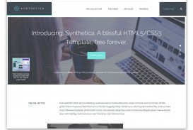 008 Best One Page Website Template Free Download Html5 High Def  Parallax