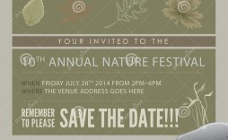 008 Best Save The Date Flyer Template Example  Free Event Sample