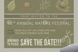 008 Best Save The Date Flyer Template Example  Word Event