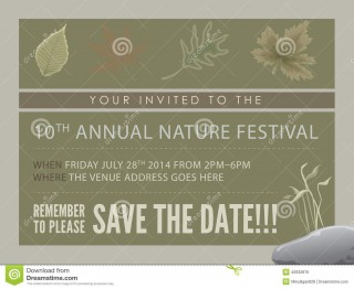 008 Best Save The Date Flyer Template Example  Word Event320