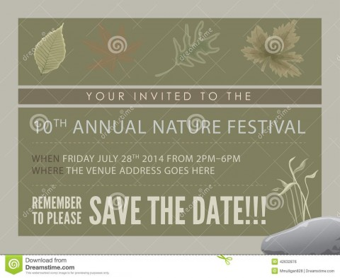 008 Best Save The Date Flyer Template Example  Word Event480