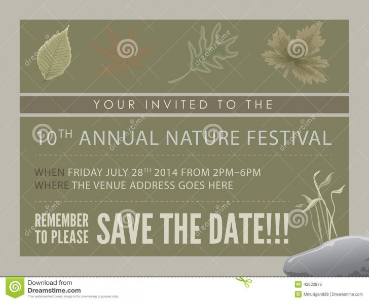 008 Best Save The Date Flyer Template Example  Word Event728