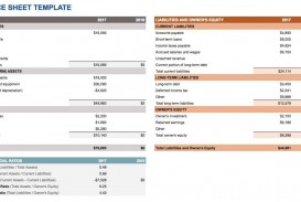 008 Best Simple Balance Sheet Template High Resolution  Example For Small Busines Sample A Church