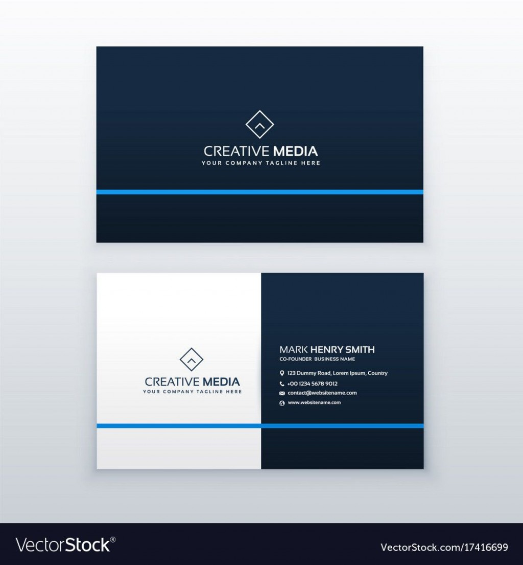 008 Best Simple Visiting Card Design Concept  Busines Idea Psd File Free DownloadLarge