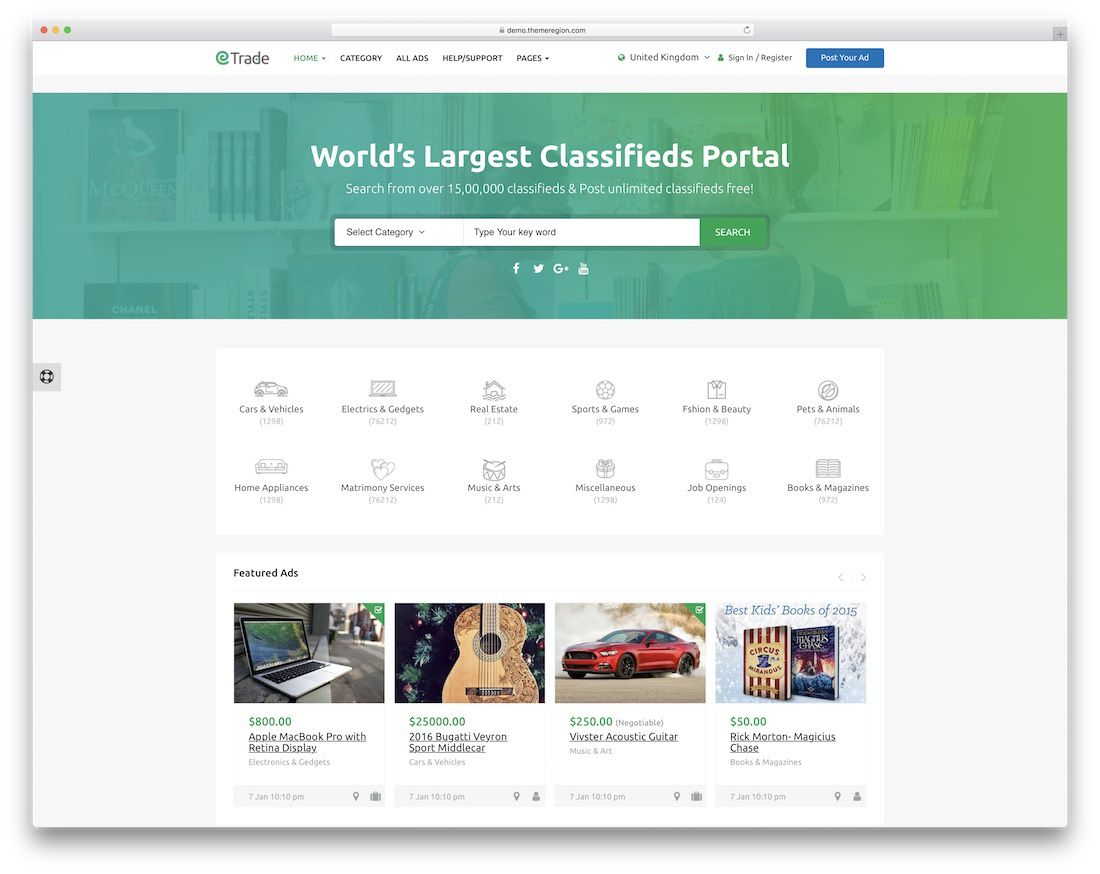 008 Best Social Media Website Template Highest Quality  Html WordpresFull