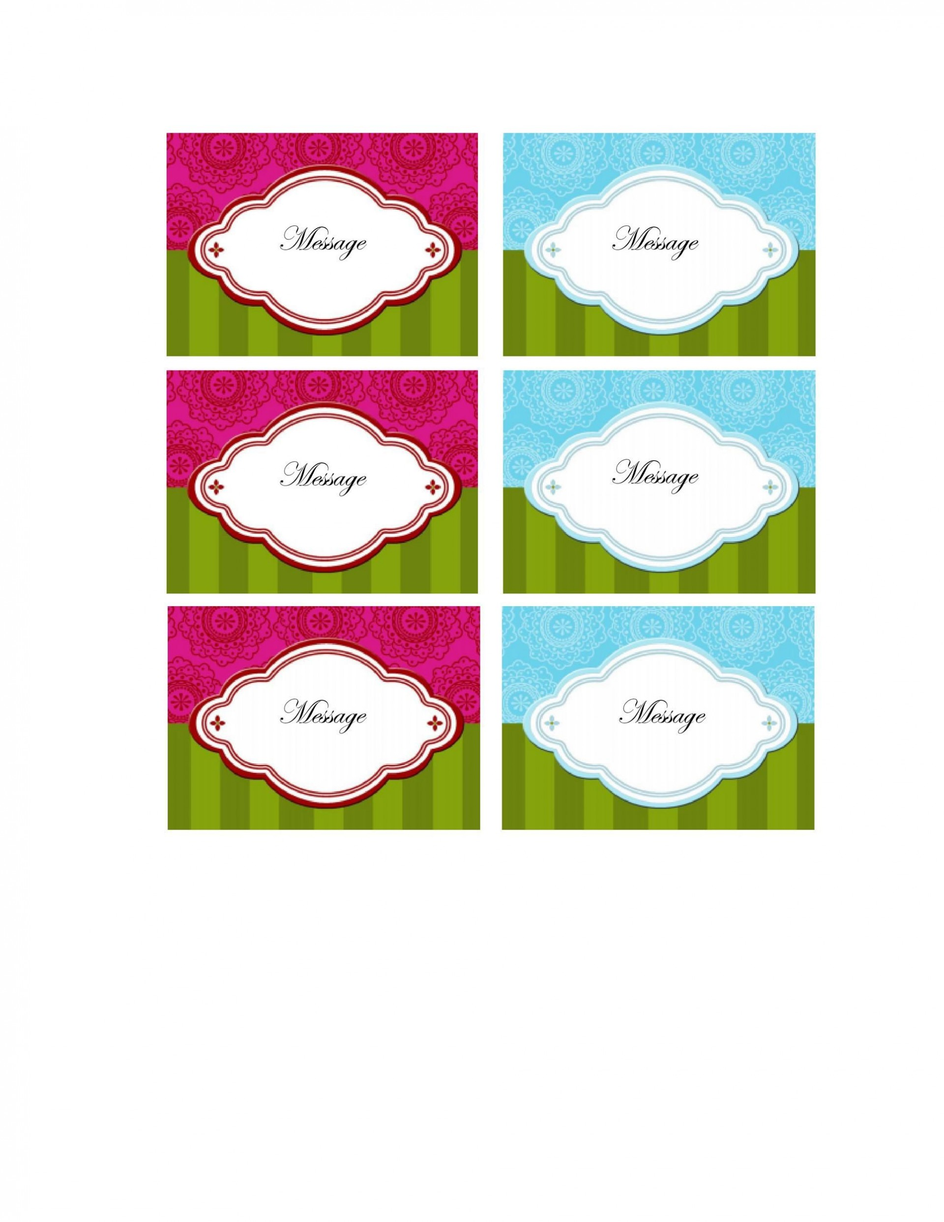 008 Best Template For Gift Tag Idea  Tags Blank Avery1920
