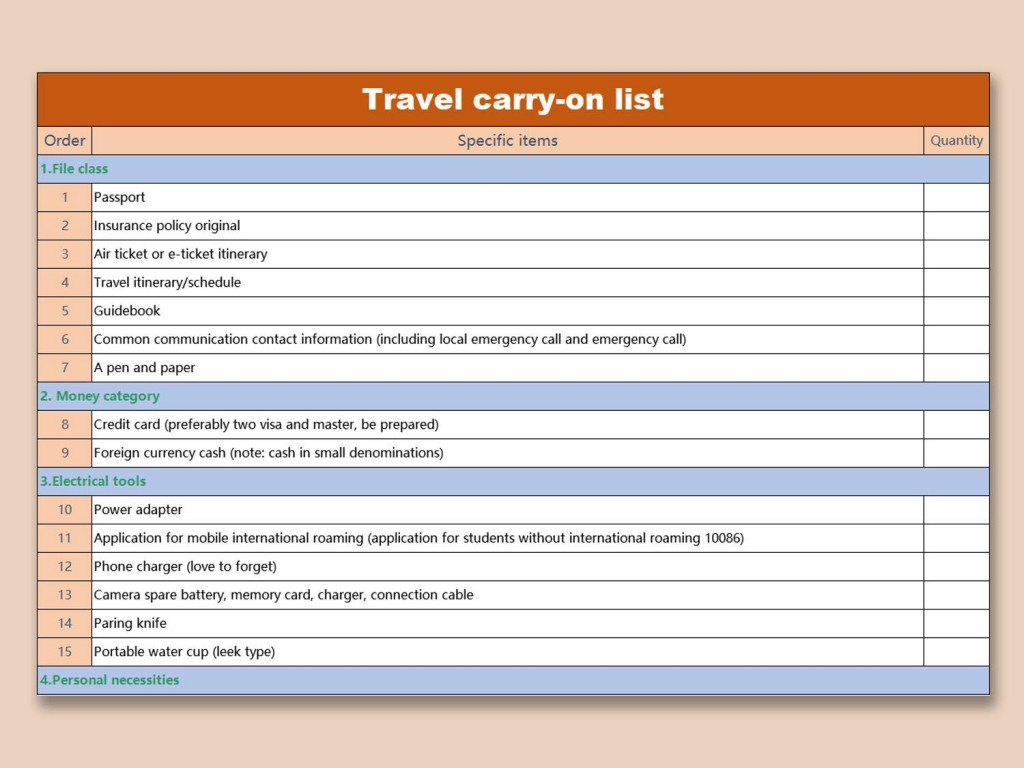 008 Best Travel Emergency Contact Card Template High Resolution Large