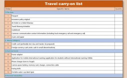 008 Best Travel Emergency Contact Card Template High Resolution
