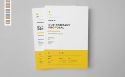 008 Best Web Design Proposal Template Indesign Photo