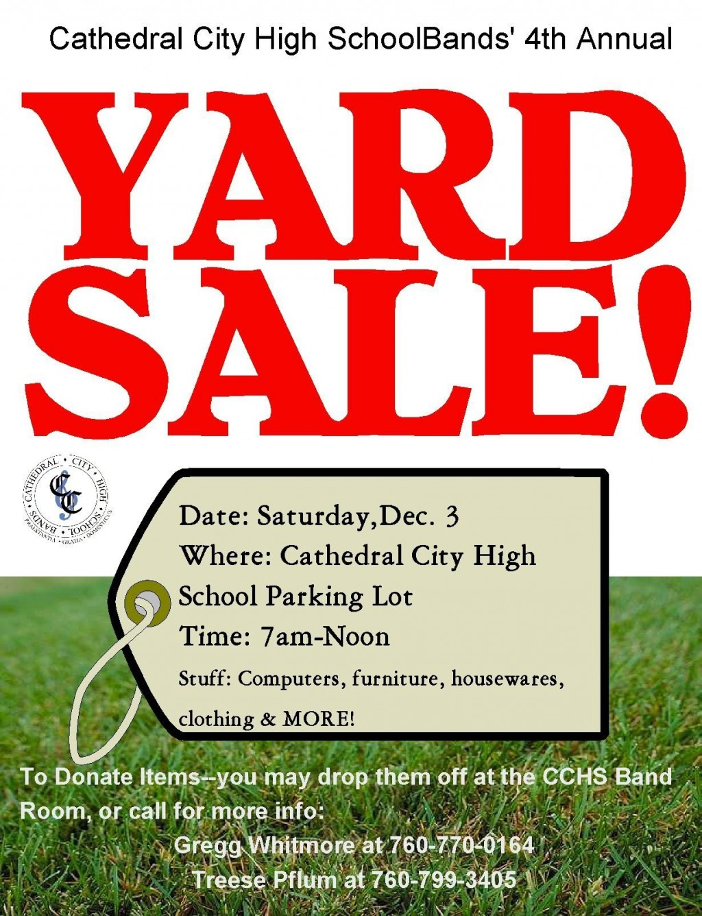 008 Best Yard Sale Flyer Template Free Picture  Community GarageLarge
