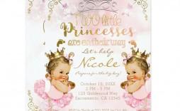 008 Breathtaking Baby Shower Invitation Girl Princes Example  Princess Theme