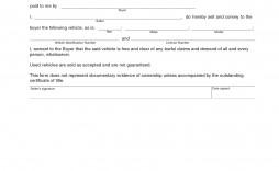 008 Breathtaking Bill Of Sale Auto Template Idea  Car Australia For Microsoft Word Ontario