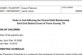 008 Breathtaking Child Custody Agreement Template Highest Quality  Texa Nj Uk