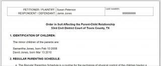 008 Breathtaking Child Custody Agreement Template Highest Quality  Texa Nj Uk320