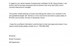 008 Breathtaking Employment Verification Letter Template Word High Definition  South Africa