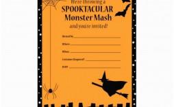 008 Breathtaking Halloween Party Invite Template Example  Templates - Free Printable Spooky Invitation Birthday