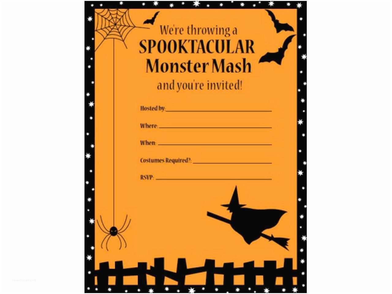 008 Breathtaking Halloween Party Invite Template Example  Templates - Free Printable Spooky Invitation BirthdayFull