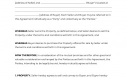 008 Breathtaking Home Purchase Agreement Template Michigan Concept