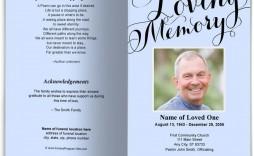 008 Breathtaking In Loving Memory Template Image  Free Download Card Bookmark