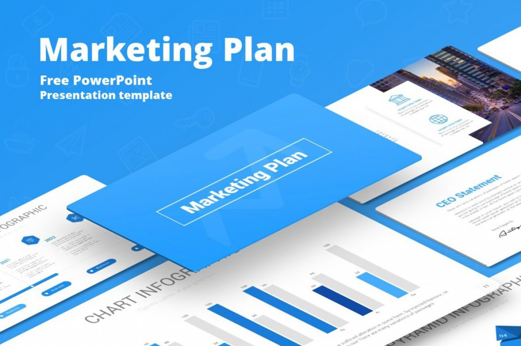 008 Breathtaking Marketing Plan Template Free Powerpoint Design  DownloadLarge