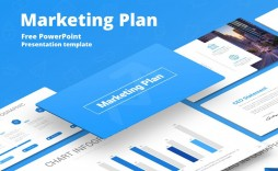 008 Breathtaking Marketing Plan Template Free Powerpoint Design  Download