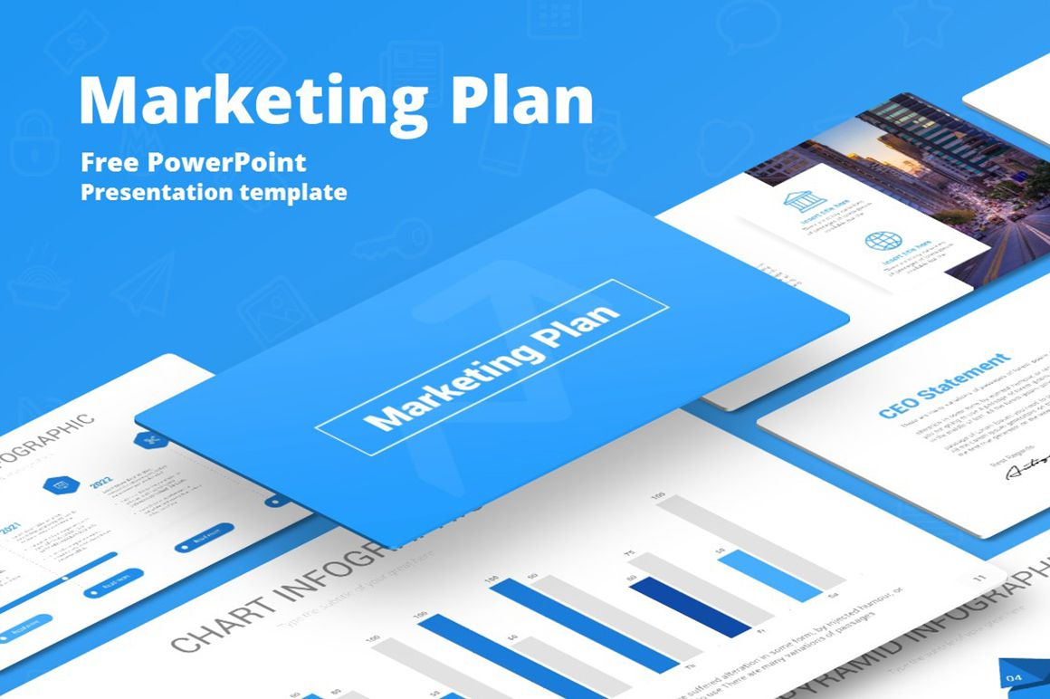 008 Breathtaking Marketing Plan Template Free Powerpoint Design  DownloadFull
