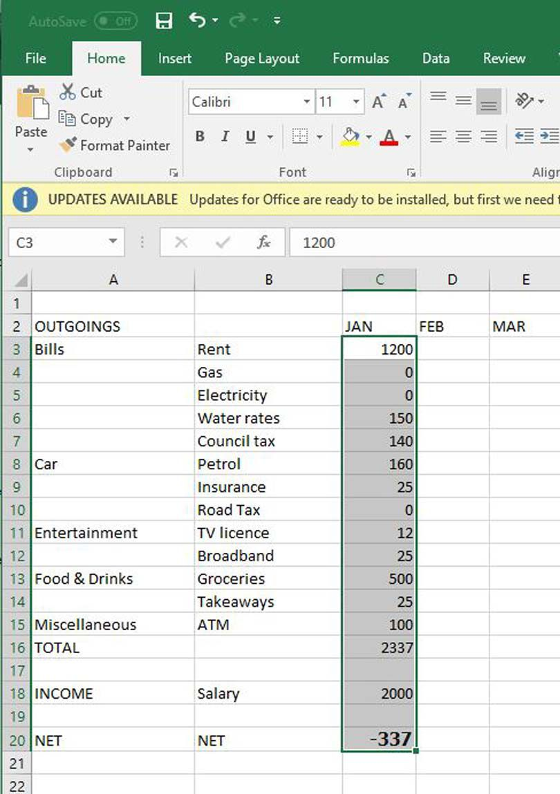 008 Breathtaking Microsoft Excel Personal Budget Template Concept  MonthlyFull