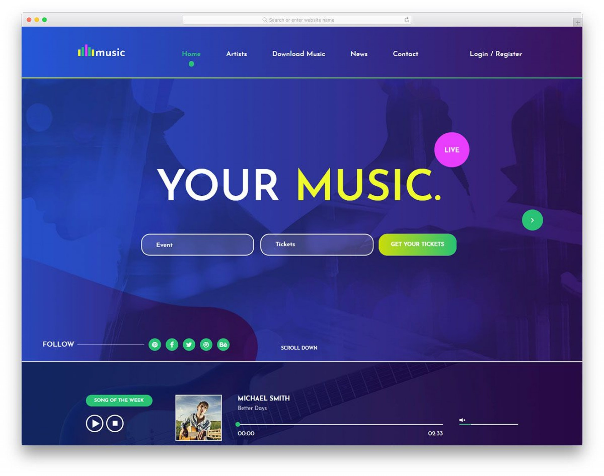 008 Breathtaking Music Marketing Plan Template Free Download Example 1920