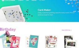 008 Breathtaking Quarter Fold Birthday Card Template Free High Def  Download
