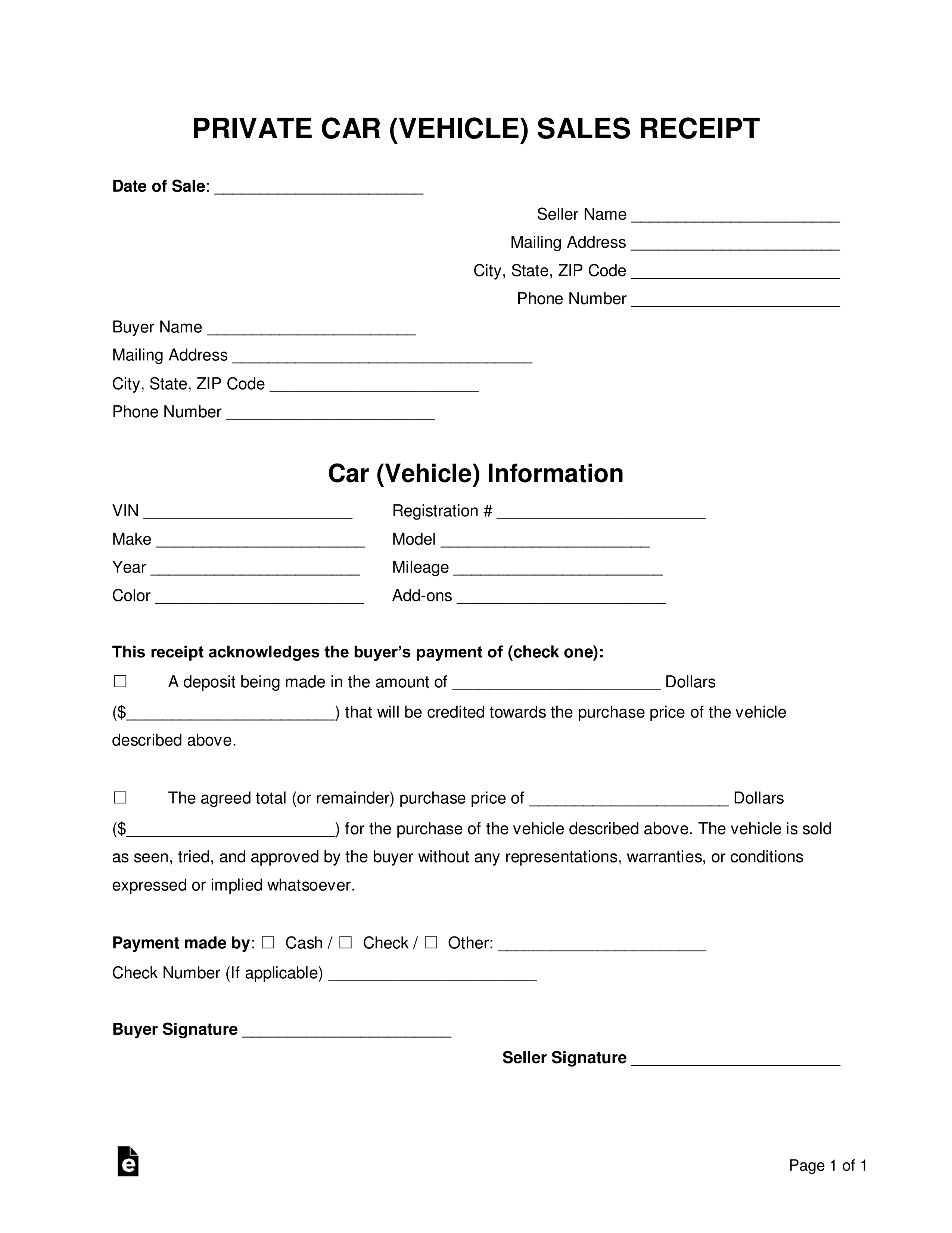 008 Breathtaking Simple Bill Of Sale Template Picture  For Car Pdf Boat UkFull