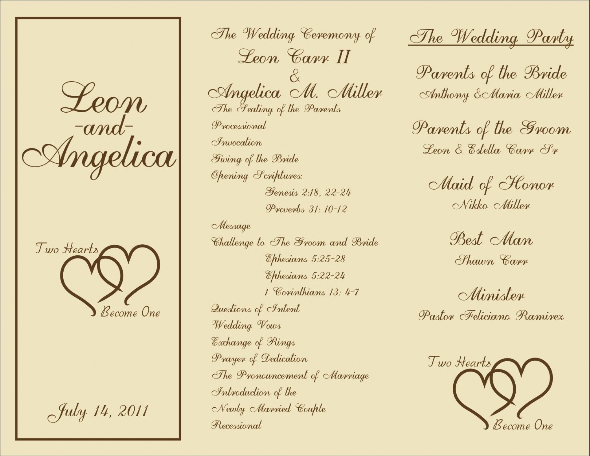 008 Breathtaking Wedding Reception Program Template Image  Templates Layout Free Download Ceremony And1920