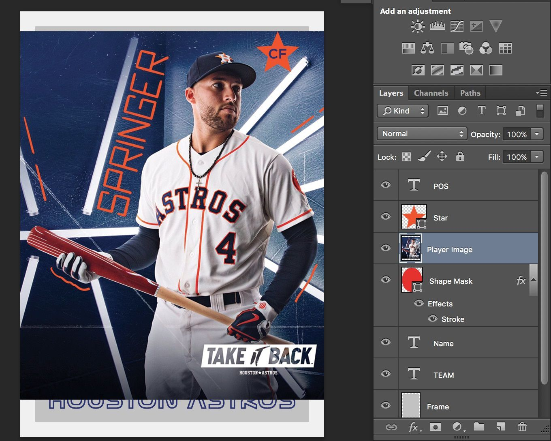 008 Dreaded Baseball Card Template Photoshop Sample  Topp FreeFull
